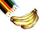 Как нарисовать банан поэтапно