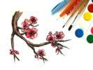Как нарисовать сакуру поэтапно