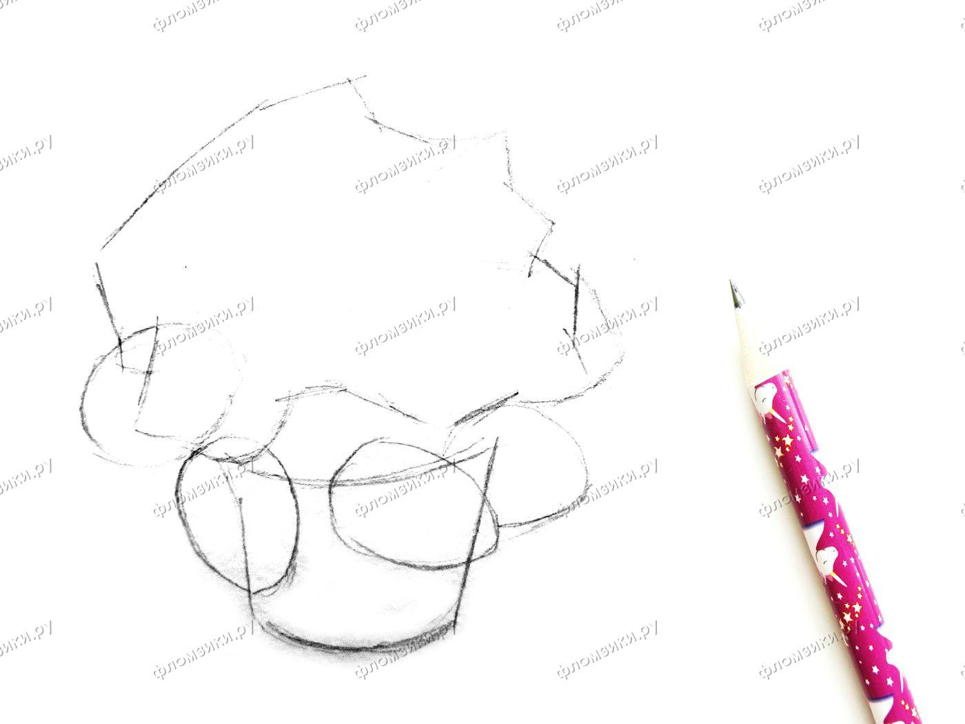 Как нарисовать фиалку